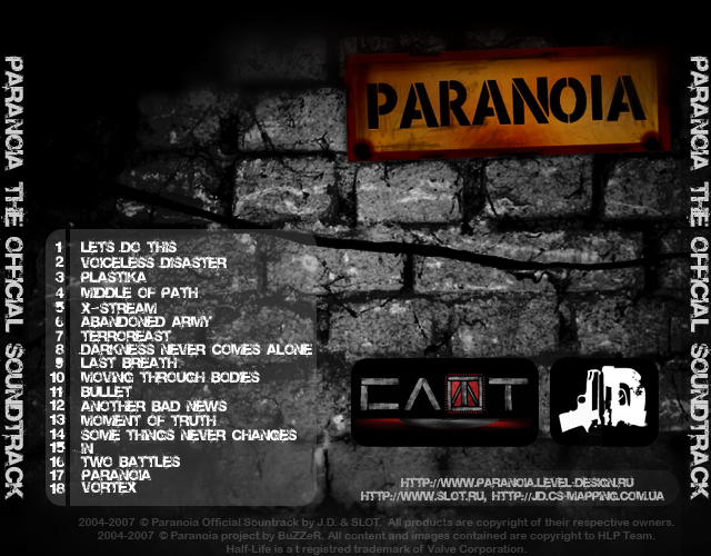 Paranoia [New Half-Life mod]